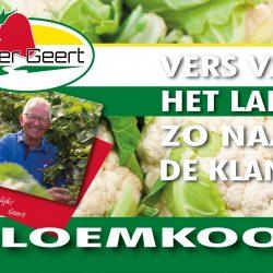 Boer Geert Bloemkool A3H