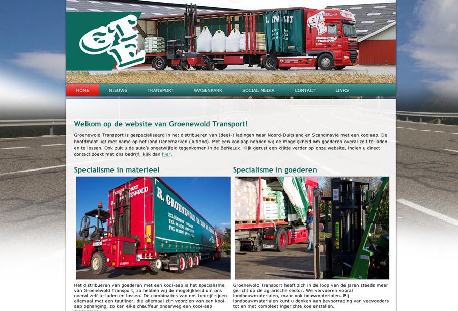Groenewold Transport Nieuw Website