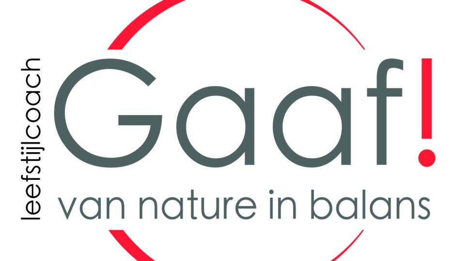 Gaaf! Leefstijlcoach, van nature in balans Branding by Studio CC