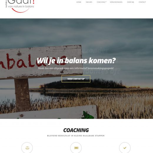 Gaaf website door Studio CC